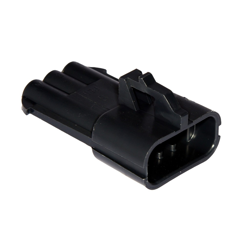 Way metri pack male connector assembly