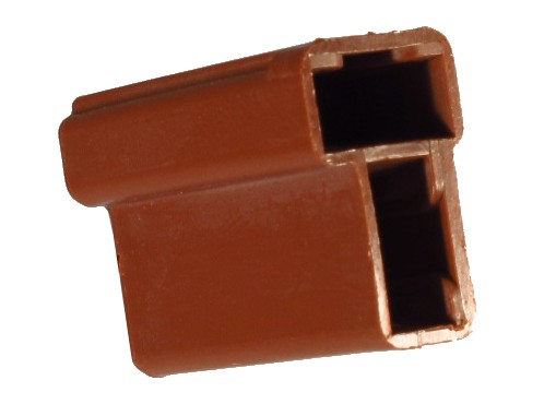 2 Way Brown 56 Series Unsealed Female Connector